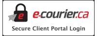 Client E-Courier Portal Login